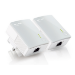 TP-LINK TP Link TL PA4010 600Mbps nano Powerline Ethernet Gaming adapter Home Plug X 2