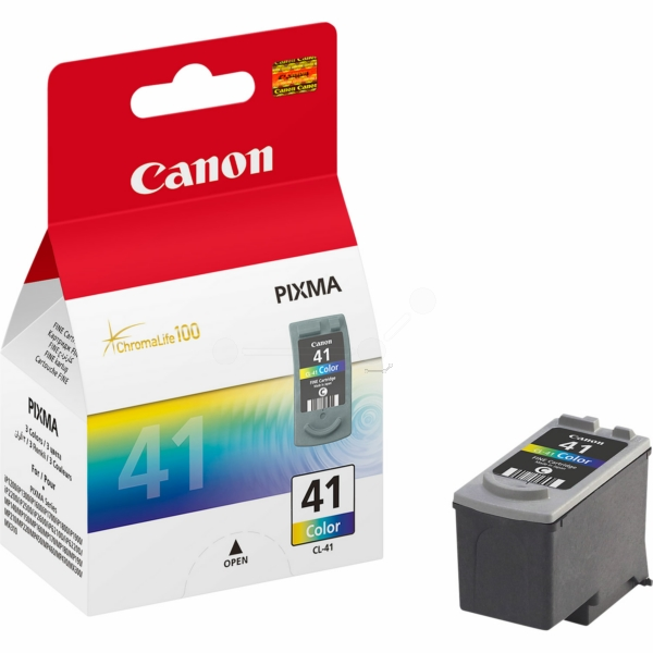 Canon 0617B001 (CL-41) Printhead color, 308 pages, 12ml