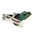 StarTech.com 2S1P PCI Serial Parallel Combo Card with 16550 UART PCI2S1P
