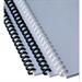 GBC ClickBind Binding Spines 16mm A4 Black (50)