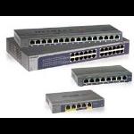 Netgear GS116E Managed L2 Gigabit Ethernet (10/100/1000) Zwart