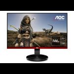 "AOC Gaming G2590FX pantalla para PC 62,2 cm (24.5"") Full HD LCD Plana Mate Negro, Rojo"