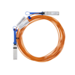 "Mellanox Technologies LinkX InfiniBand cable 1968.5"" (50 m) QSFP Orange"