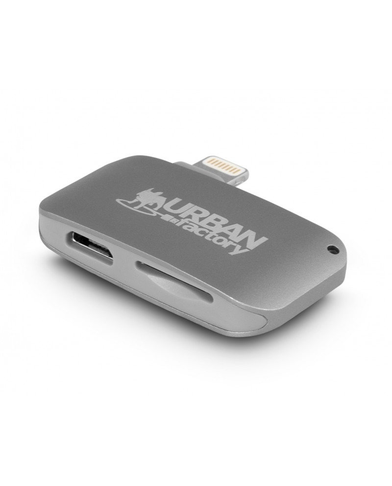 Urban Factory Card Reader for output Lightning, In: micro SD & micro USB