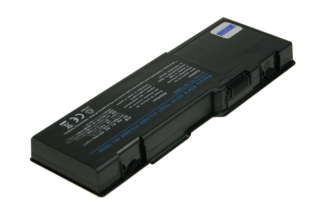 2-Power 11.1v, 9 cell, 73Wh Laptop Battery - replaces 312-0466