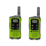 Motorola TLKR-T41 two-way radio 8 channels 446 MHz Green
