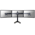 "Newstar FPMA-D700DD3 27"" Black flat panel desk mount"