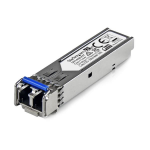 StarTech.com MSA Uncoded SFP Module - 100BASE-LX - 100MbE Single Mode Fiber (SMF) Optic Transceiver - 100Mb Ethernet SFP - LC 10km - 1310nm - DDM