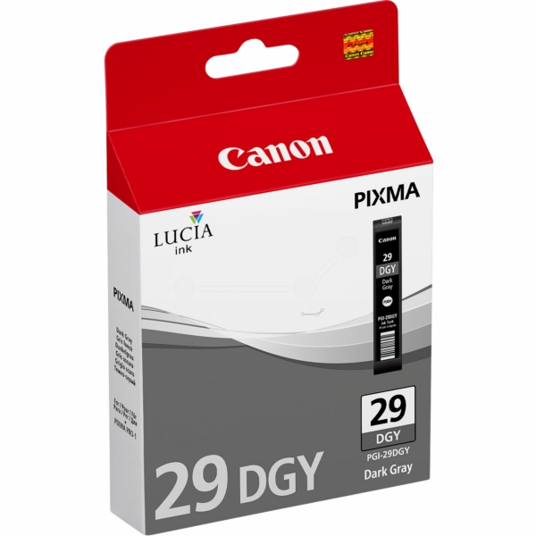 Canon 4870B001 (PGI-29 DGY) Ink cartridge gray, 710 pages, 36ml