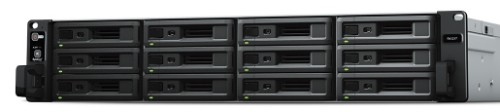 Synology RX1217 disk array 24 TB Rack (2U) Black,Grey