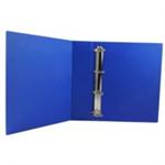 White Box WB PRES 4D RINGBINDER BLUE 50MM