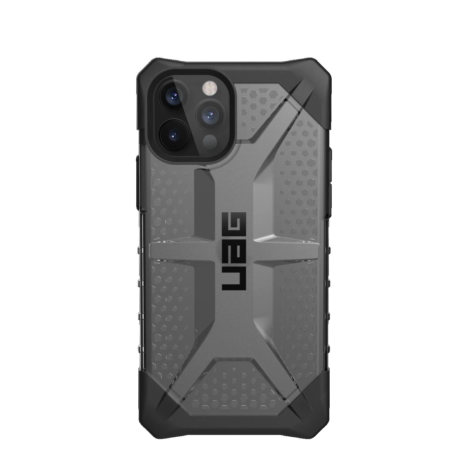 "Urban Armor Gear APPLE MILLENIUM 2 PLASMA ICE ACCS funda para teléfono móvil 17 cm (6.7"") Negro, Gris, Transparente"