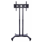"Multibrackets 7350073732319 flat panel floorstand 152.4 cm (60"") Portable flat panel floor stand Black"
