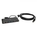 C2G C2G54479 notebook dock/port replicator Wired USB 3.2 Gen 1 (3.1 Gen 1) Type-C Black