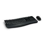 Microsoft 5050 keyboard RF Wireless + USB QWERTY UK English Black