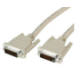 Videk DVI-D/DVI-D, 15 m 15m DVI-D DVI-D Beige DVI cable