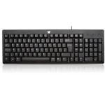 V7 CK0A1-4E3P USB QWERTY Engels Zwart, Zilver toetsenbord