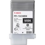 Canon PFI-102MBK inktcartridge Mat Zwart 130 ml