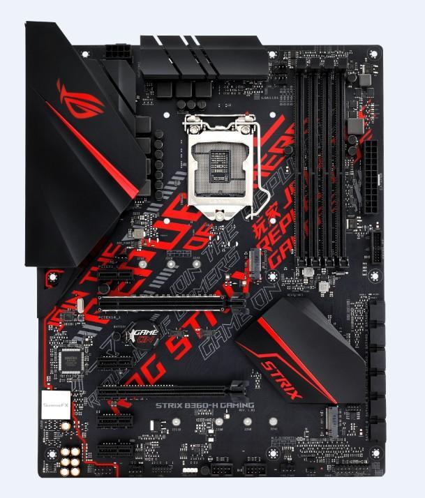 ASUS ROG STRIX B360-H GAMING motherboard ATX Intel® B360