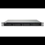 QNAP TS-432XU-RP Ethernet LAN Rack (1U) Zwart NAS