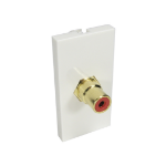Cables Direct AV-MOD1RCARD socket-outlet RCA White