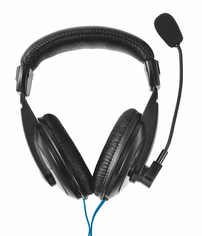 Trust 21661 headphones/headset Head-band Black