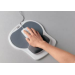 Fellowes Mousepad/Wrist-Graph/Platinum