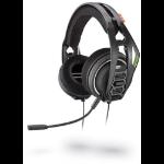 Plantronics RIG 400HX Binaural Head-band Black headset