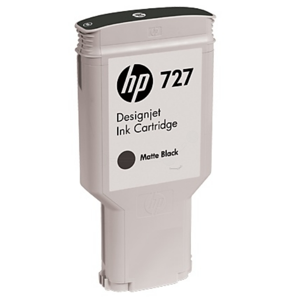 HP C1Q12A (727) Ink cartridge black matt, 300ml