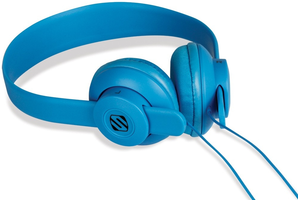 Scosche lobeDOPE Blue Supraaural Head-band headphone