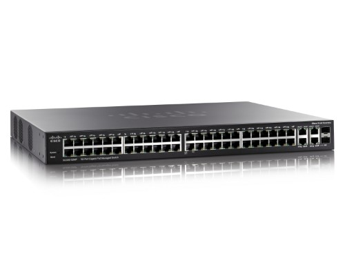 Cisco Small Business SG300 52-port Gigabit Max-PoE Managed Switch