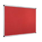 Bi-Office FA3846170 insert notice board Indoor Red Aluminium