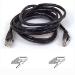 Belkin RJ45 CAT-6 Snagless STP Patch Cable 10m black