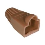 Cablenet RJ45 Bubble Boot Brown 6mm