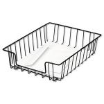 Fellowes 60112 Steel Black desk tray
