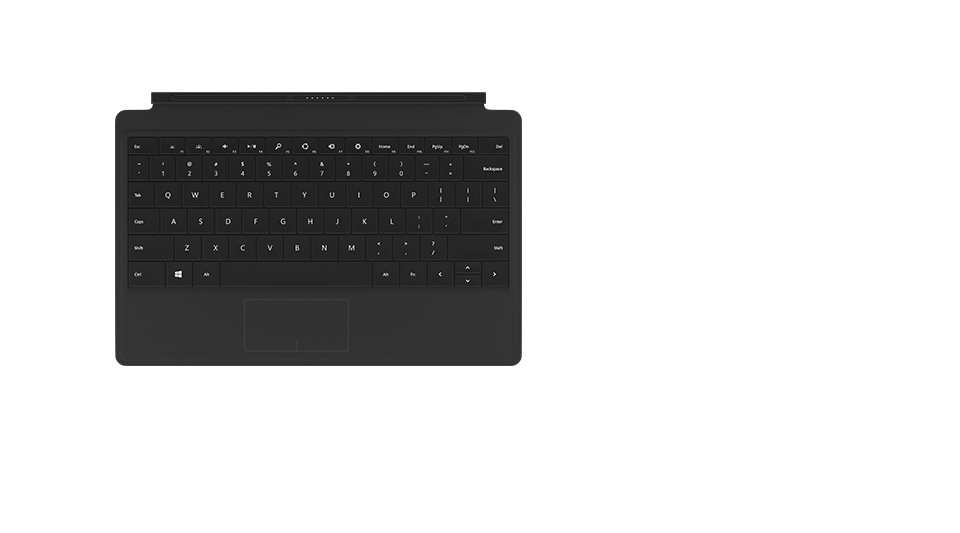 MICROSOFT TYPE COVER 2 MOBILE DEVICE KEYBOARD BLACK ENGLISH