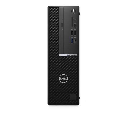DELL OptiPlex 7080 i5-10500 SFF 10th gen Intel® Core™ i5 8 GB DDR4-SDRAM 256 GB SSD Windows 10 Pro PC Black