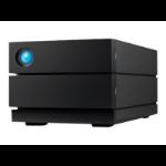 LaCie 2big RAID 4TB unidad de disco multiple Escritorio Negro