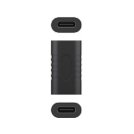 CoreParts MBXUSBC-AC0007 cable interface/gender adapter USB-C(F) Black