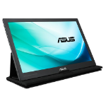 "ASUS MB169C+ computer monitor 39.6 cm (15.6"") 1920 x 1080 pixels Full HD LED Flat Black,Grey"