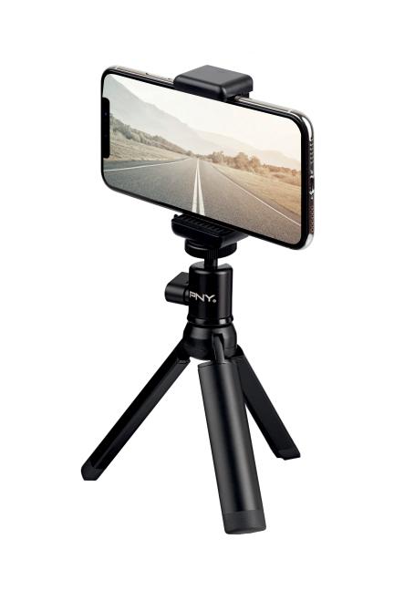 PNY P-T-BTRI001K-RB tripod Smartphone/Action camera 3 legs Black