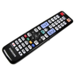 Samsung BN59-01039A IR Wireless press buttons Black remote control