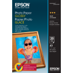 Epson Photo Paper Glossy Fotopapier A3 Glanz