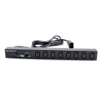 GRAFENTHAL 419G0813 8AC outlet(s) Black power distribution unit (PDU)