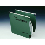 Rexel Crystalfile Extra `275` Lateral File 50mm Green (25)