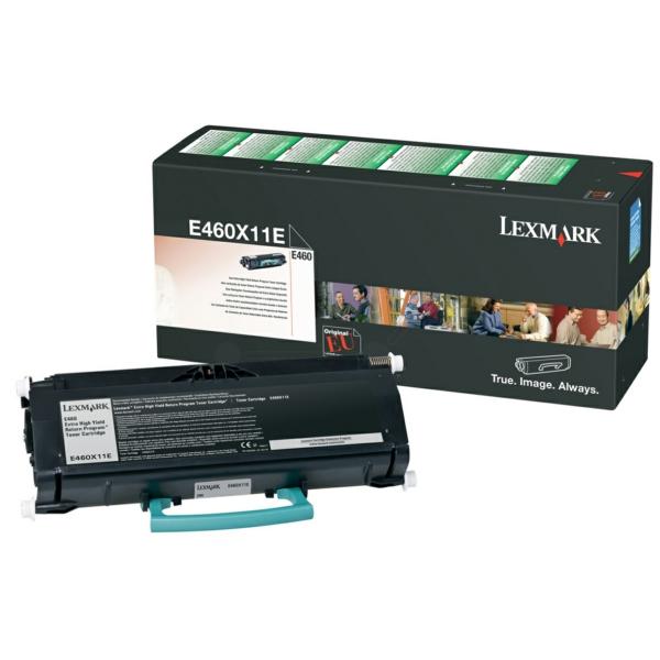 Lexmark E460X11E Toner black, 15K pages @ 5% coverage