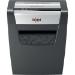 Rexel Momentum X410 triturador de papel Corte en partículas Negro, Gris
