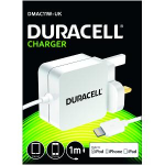Duracell DMAC11W-UK Indoor White mobile device charger