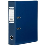 Elba Mini Lever Arch File PVC 50mm Spine A4 Blue Ref 100025925 [Pack 10]