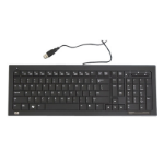 HP 539130-L31 USB QWERTY Portuguese Black keyboard